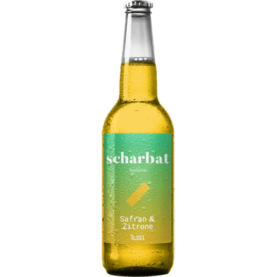 6x Scharbat Zitrone & Safran